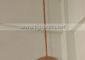 lampu-gantung-tembaga-dome