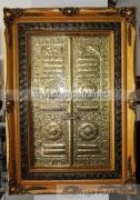 Kerajinan Kuningan Miniatur Pintu Ka'bah