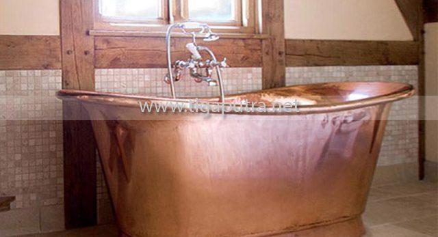KERAJINAN TEMBAGA BATHTUB TEMBAGA