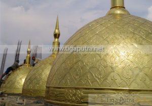 kubah kuningan - kubah masjid kuningan