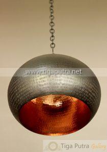 lampu-gantung-tembaga-bulat