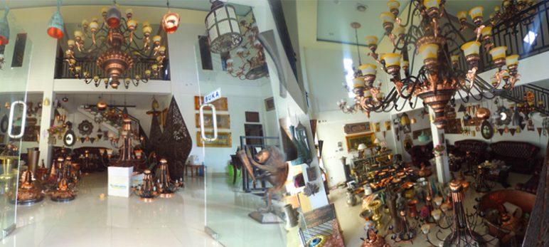 Gallery Kerajinan Tembaga dan Kerajinan Kuningan