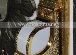 kerajinan kuningan lampu dinding masjid